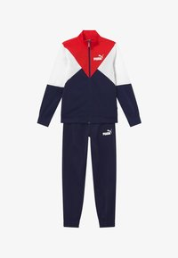 Puma - REBEL SUIT SET - Tracksuit - peacoat - 3
