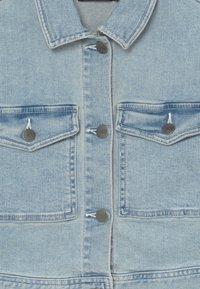 LMTD - NLFTEM SHORT JACKET - Denim jacket - light blue denim - 3
