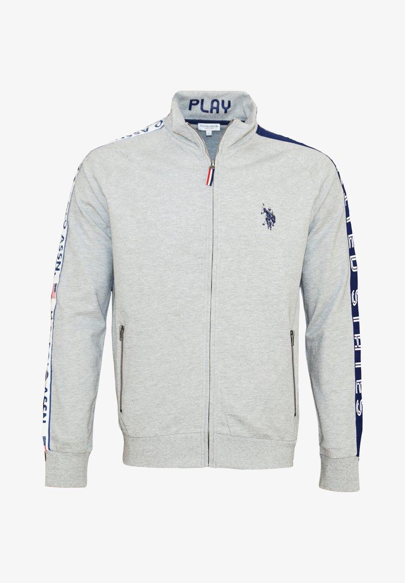 U.S. Polo Assn. - Felpa con zip - grey melange