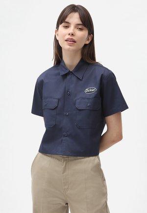 SAXMAN - Skjortebluser - navy blue