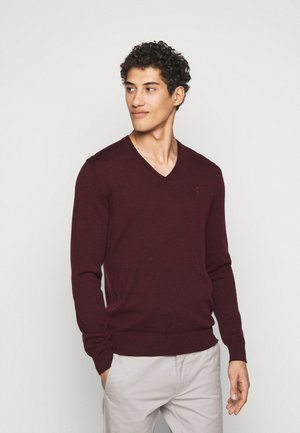 Jumper - rich ruby heather