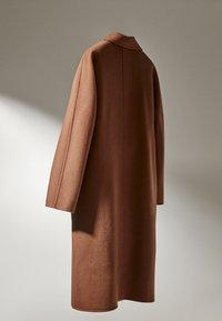 Massimo Dutti - Classic coat - brown - 4