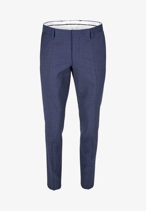 Suit trousers - light/pastel blue