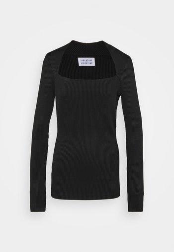 TONE - Long sleeved top - black