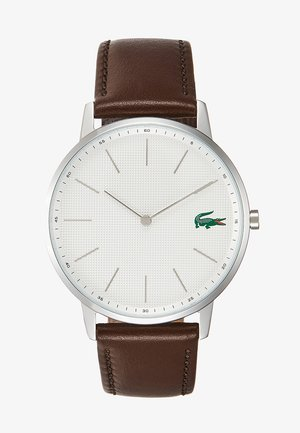 MOON - Uhr - silver-coloured/brown