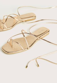 Bershka - Sandals - gold