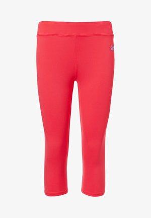 3/4 LEGGINGS - 3/4 sports trousers - pfirsich