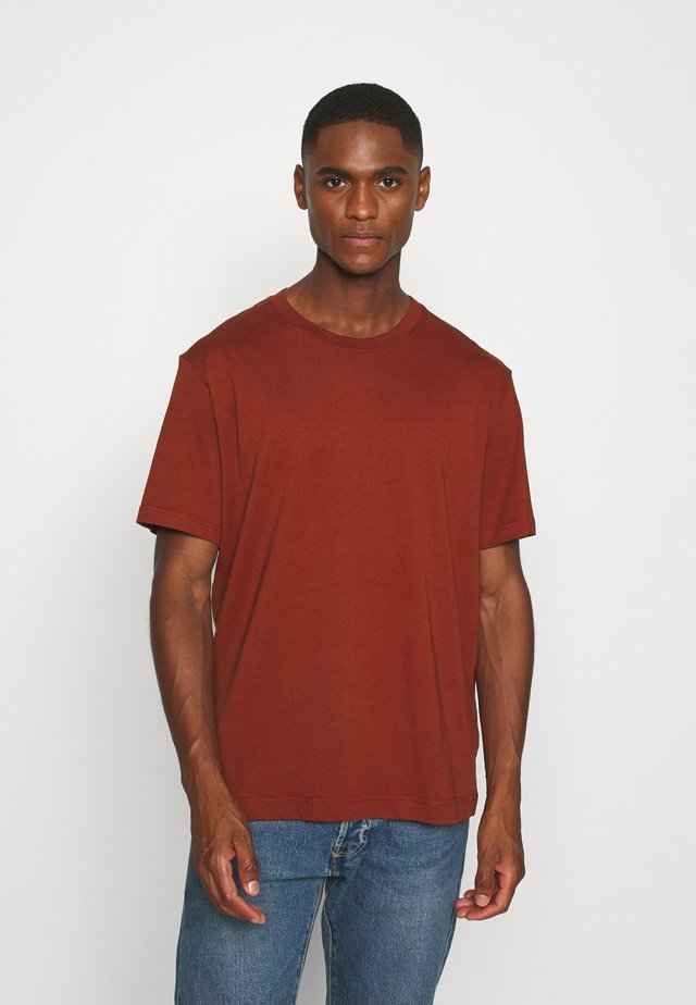 BASIC MIDWEIGHT  - Basic T-shirt - red dark