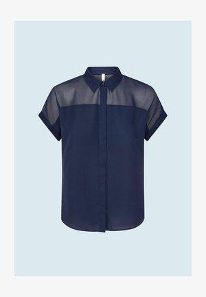 MINA - Button-down blouse - thames