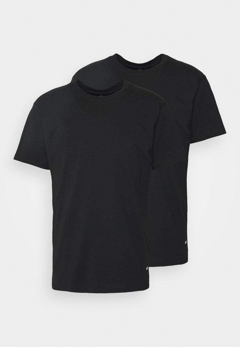 Obey Clothing - STANDARD ORGANIC TEE 2 PACK - T-paita - black