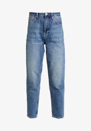 MOM HIGH RISE TAPERED - Relaxed fit jeans - sunday mid