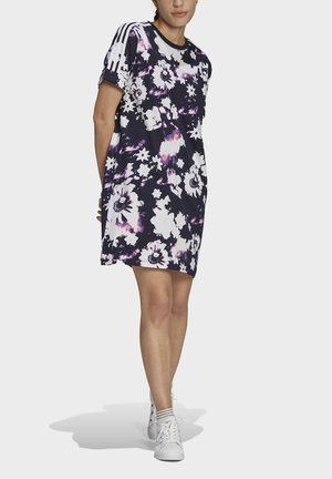 Jersey dress - multicolour