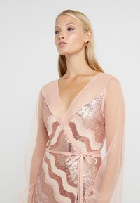 Three Floor - WRAP IT DRESS - Cocktail dress / Party dress - dusty pink/faded rose - 4