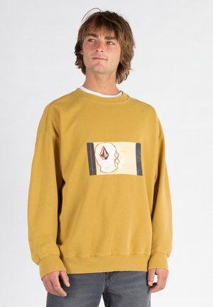 ANIMOSCILLATOR CREW - Sweatshirt - marigold