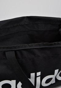 adidas Performance - LIN DUFFLE M - Sports bag - black/white - 4