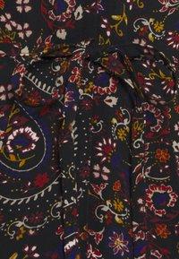 Miss Selfridge - PAISLEY SQUARE NECK MINI DRESS - Day dress - black - 2