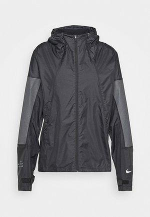 RUN - Sports jacket - black/reflect black