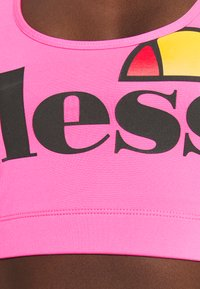 Ellesse - PRESELLE - Medium support sports bra - neon pink - 5