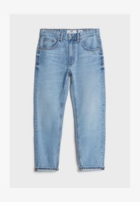 Bershka - Jean droit - blue denim - 4