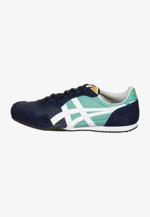 SCHUHE SERRANO - Sneakers laag - techno cyan/white