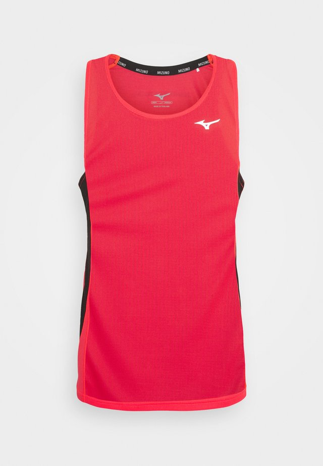 DRYAEROFLOW TANK - Top - ignition red