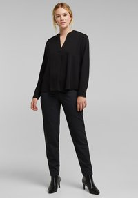 Esprit Collection - Long sleeved top - black - 1