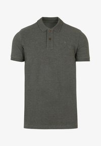 HEATHERED FABRIC - Poloshirt - khaki