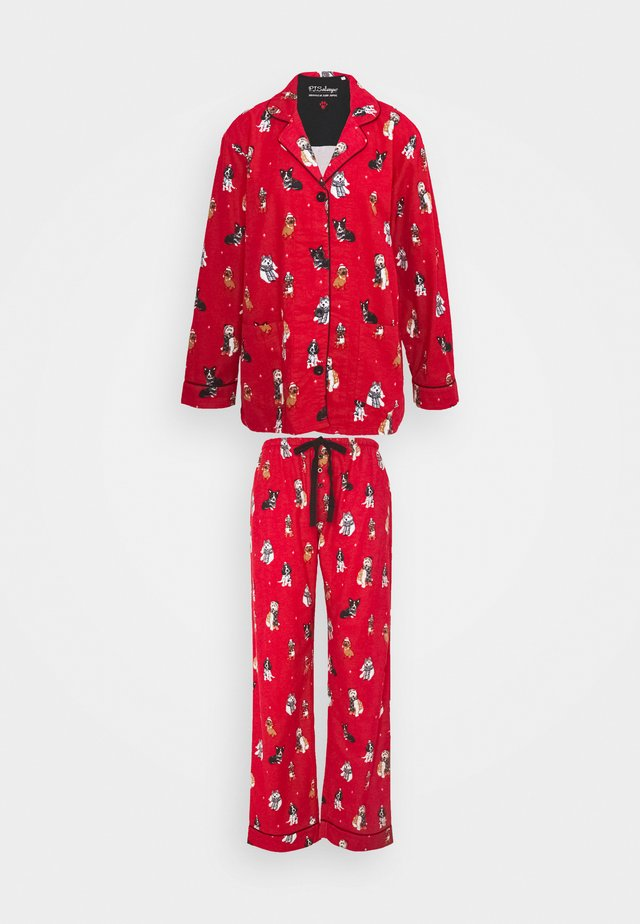 BAKING SPIRITS BRIGHT SET - Pyjamas - red
