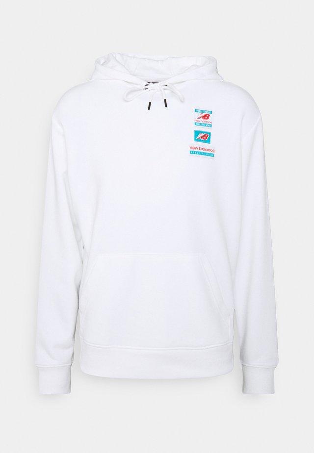 ESSENTIALS FIELD DAY HOODIE - Sweatshirt - white