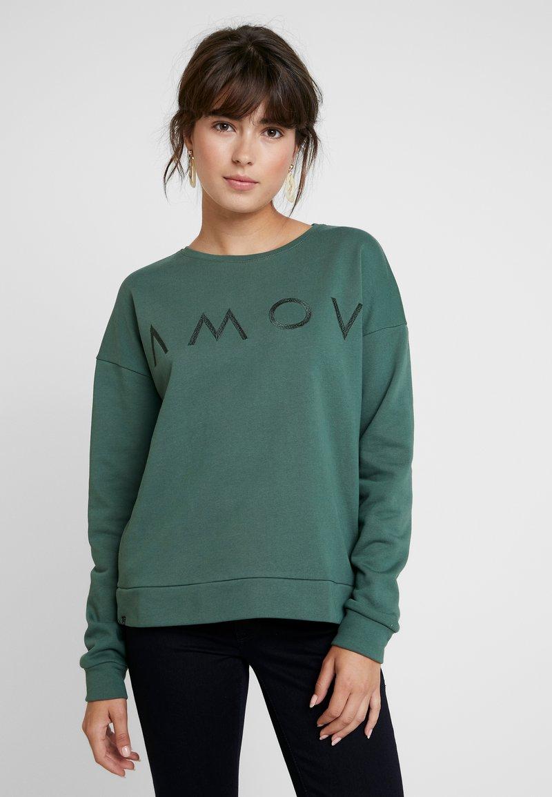 AMOV - ASTRID LOGO - Sweatshirt - bottle green
