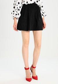 Moves - KIA - A-line skirt - black - 0