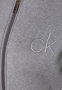 Calvin Klein Golf - MEREZ JACKET - Fleecová bunda - grey marl - 2