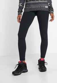 Columbia - WINDGATES LEGGING - Leggings - black - 0