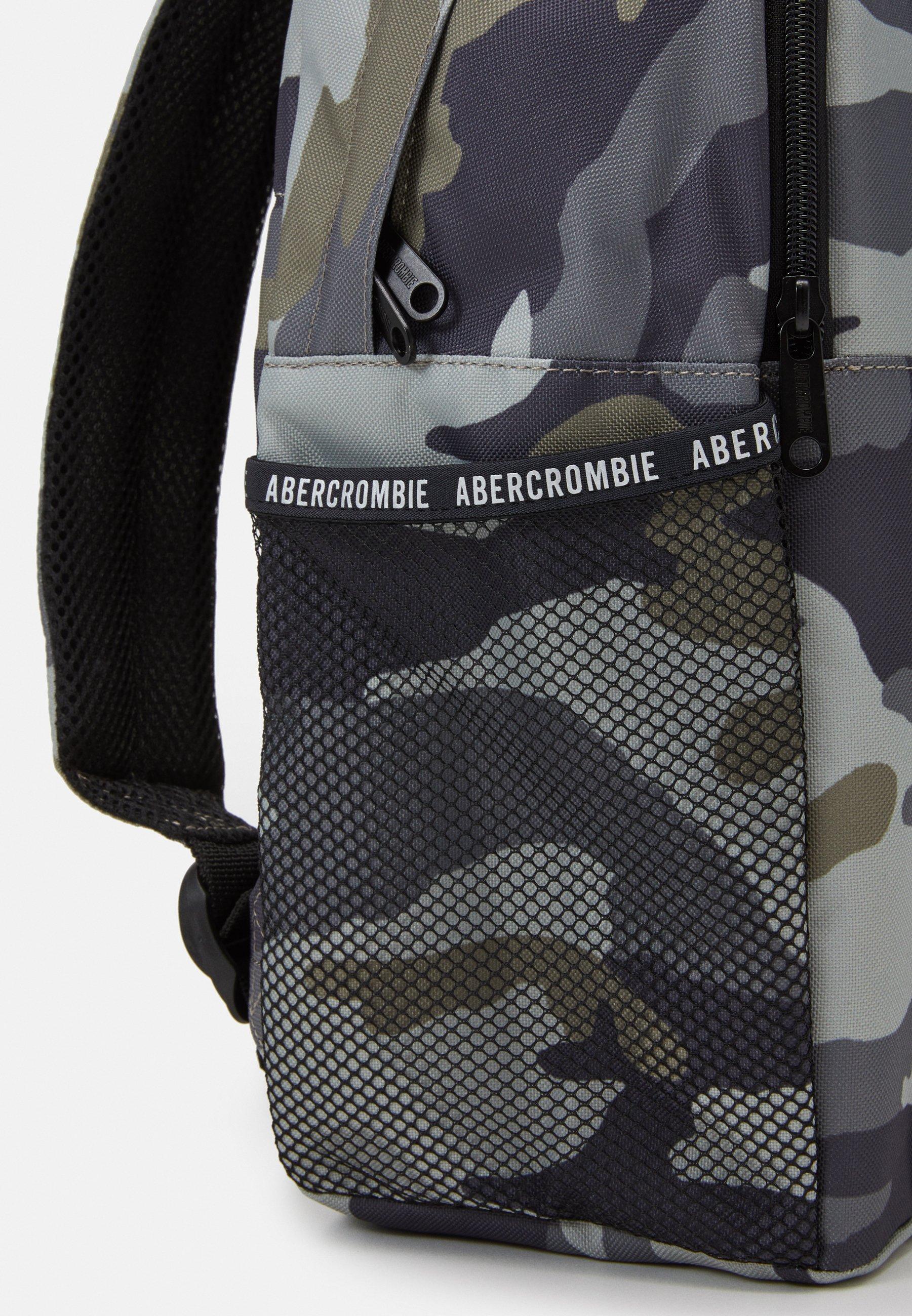 Abercrombie & Fitch Ryggsekk - camo/grå iJUoG20KgnfCw90