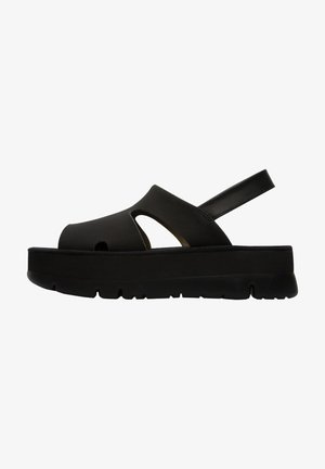 ORUGA UP - Sandalias de senderismo - black