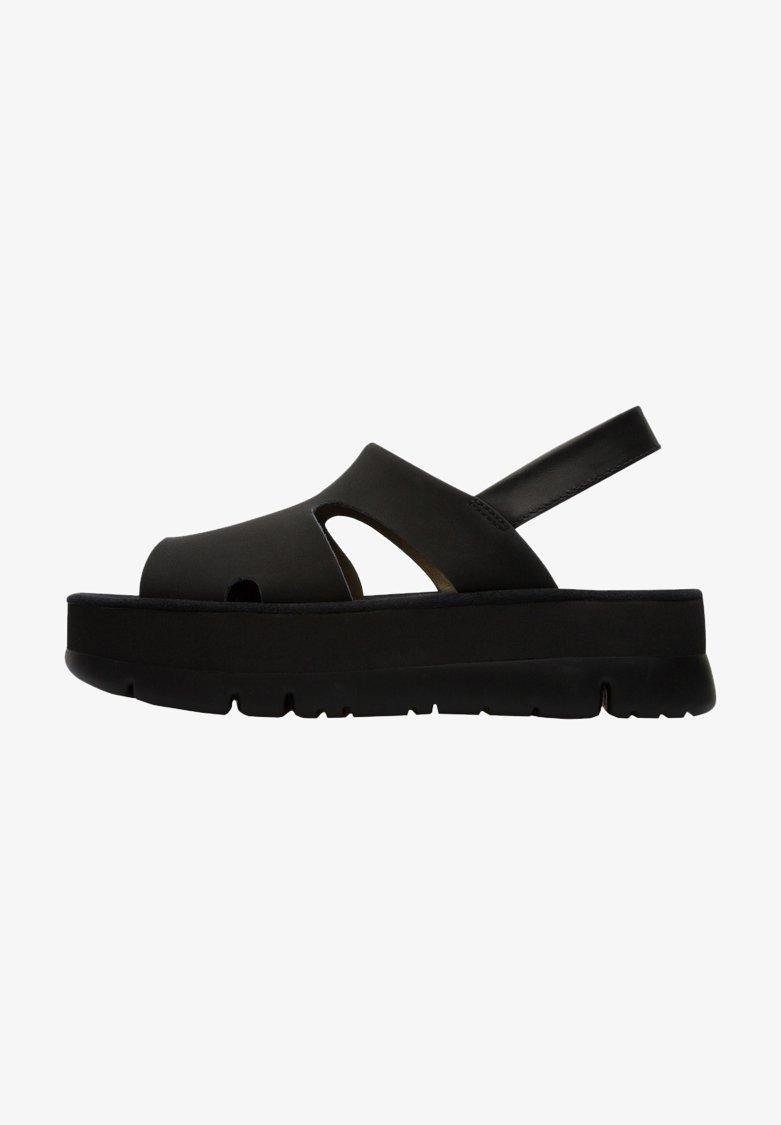 Camper - ORUGA UP - Sandalias de senderismo - black