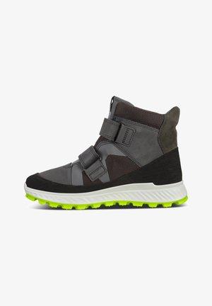 Sneakers high - black dark shadow