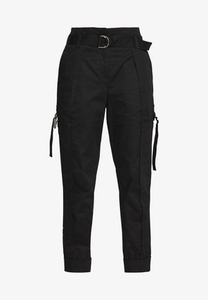 CARGO PANTS - Cargo trousers - schwarz