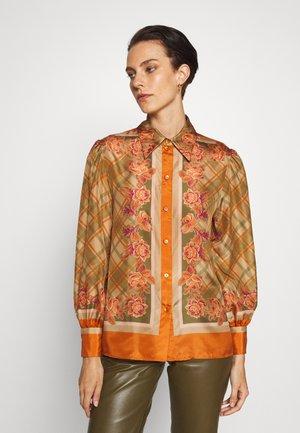 BLOUSE - Skjortebluser - orange