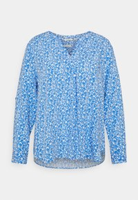 MY TRUE ME TOM TAILOR - BLOUSE WITH PLEAT DETAIL - Blouse - blue - 0