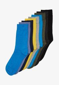 ONLINE SOCKS 9 PACK UNISEX - Socks - turquoise