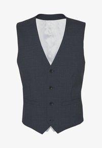Esprit Collection - WINDOW CHECK - Waistcoat - dark blue - 4