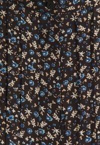 Selected Femme - SLFLIVIA CARI - Blouse - black/blue/sand - 2