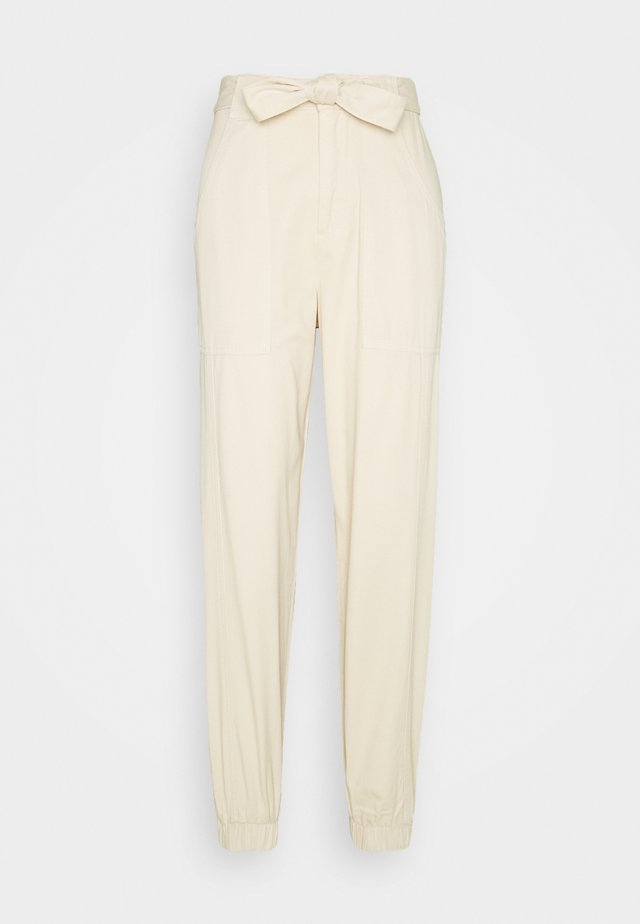 TROUSER - Trousers - stone