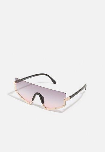 SUNGLASSES SANTA MARIA UNISEX - Sunglasses - black/gold-coloured