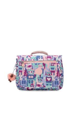 NEW SCHOOL - School bag - robot camo pink