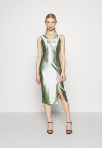WAL G. - LIBBY V NECK MIDI DRESS - Cocktail dress / Party dress - mint green - 1