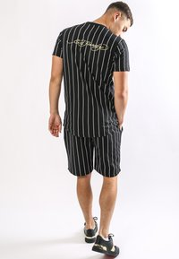 Ed Hardy - ROAR-TOUR T-SHIRT - Print T-shirt - black - 1