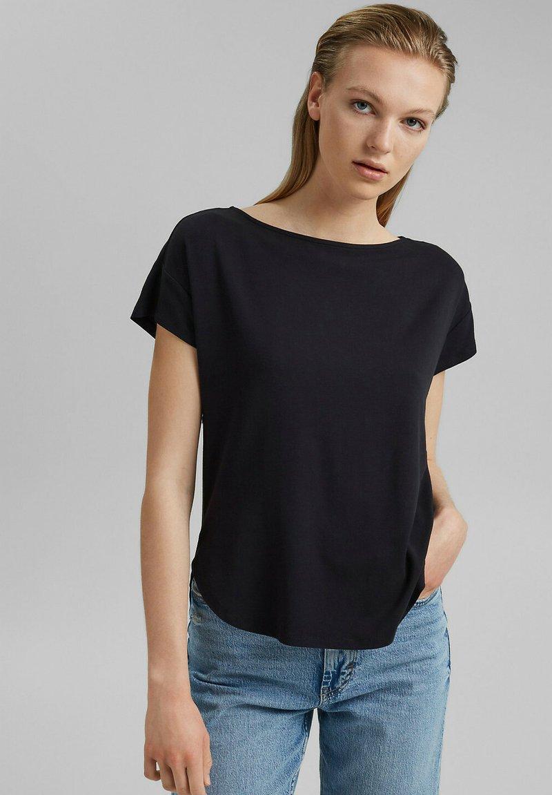 edc by Esprit - Print T-shirt - black