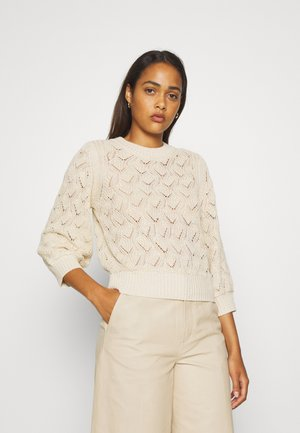 POINTA  - Strickpullover - whisper white